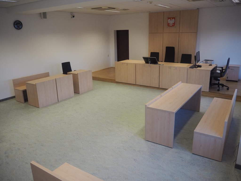 Sala Rozpraw Wydziału II